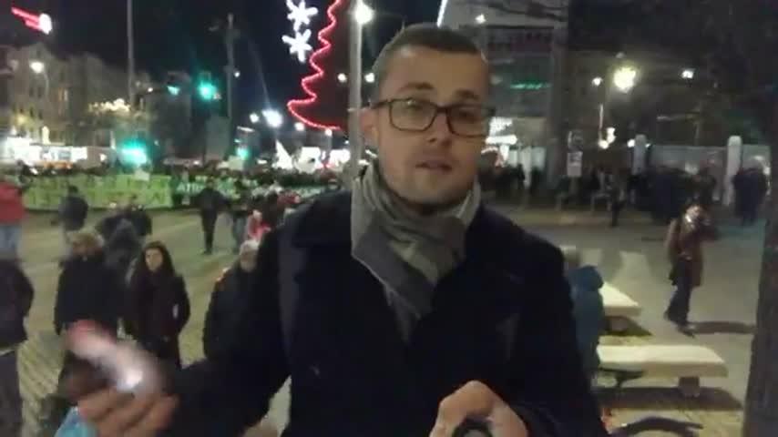 Протест в защита на Пирин в София