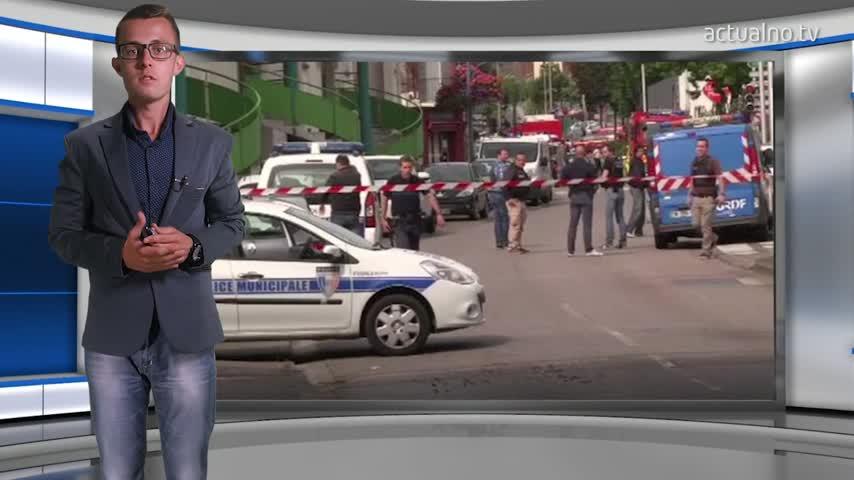 Въоръжени взеха заложници в църква във Франция