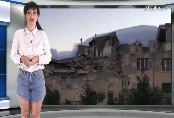 Вижте подробности от разрушителното земетресение в Италия