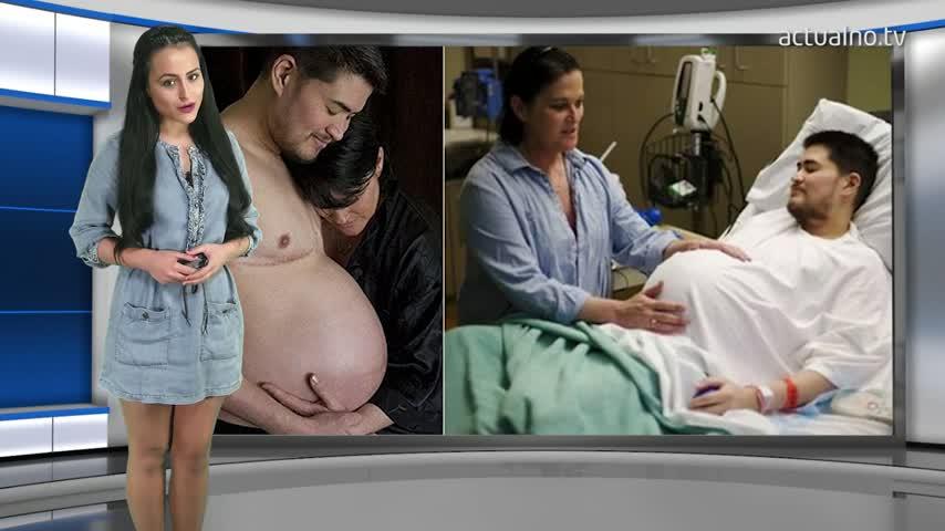Чудо: Първият бременен мъж спира да ражда
