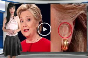 Ексклузивни кадри: Уличиха Хилари, че била със слушалка на дебата с Тръмп