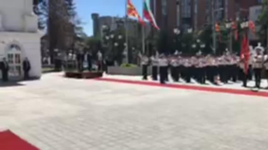 Бойко Борисов пристига в Скопие