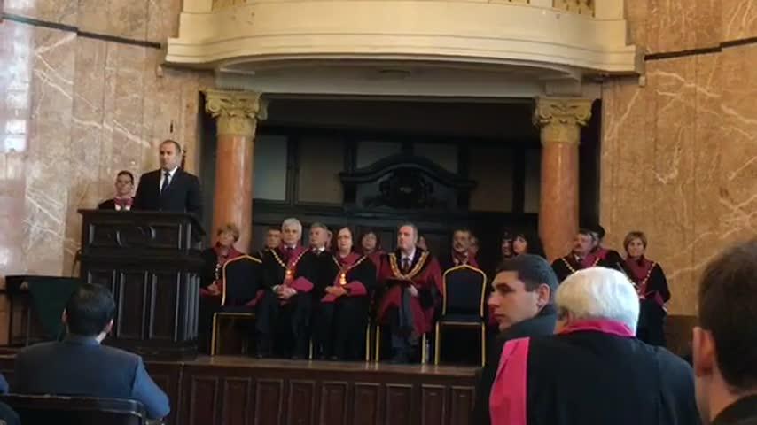 Президентът Румен Радев открива учебната година в СУ