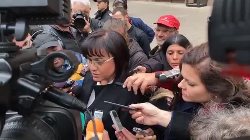 Изявление на Корнелия Нинова след КСНС при Румен Радев