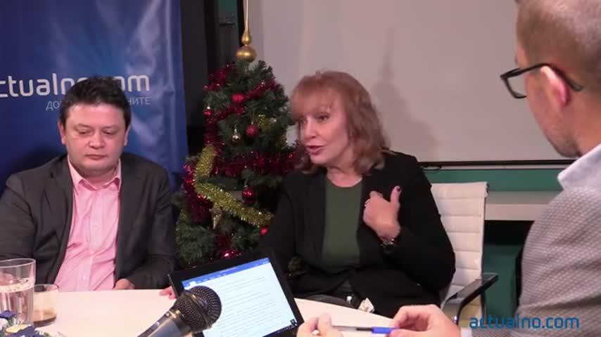Разговор с Люба Кулезич, Калин Илиев и Николай Стайков