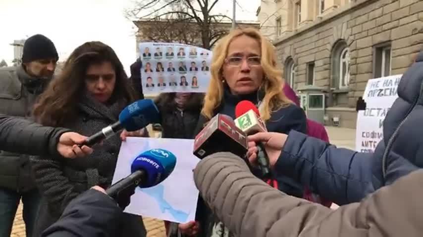Протест срещу застрояването в София