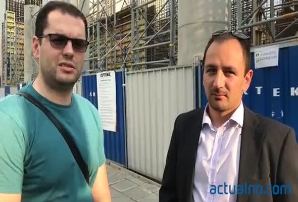 Протест срещу високото строителство в Лозенец