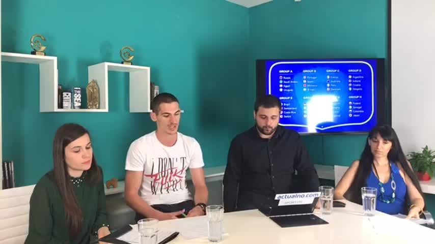 "Студио: ""Мондиал+"": Разбивка на групите за Световното"
