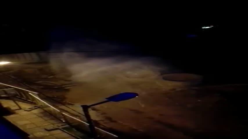 Теч водопровод Хан Пресиян