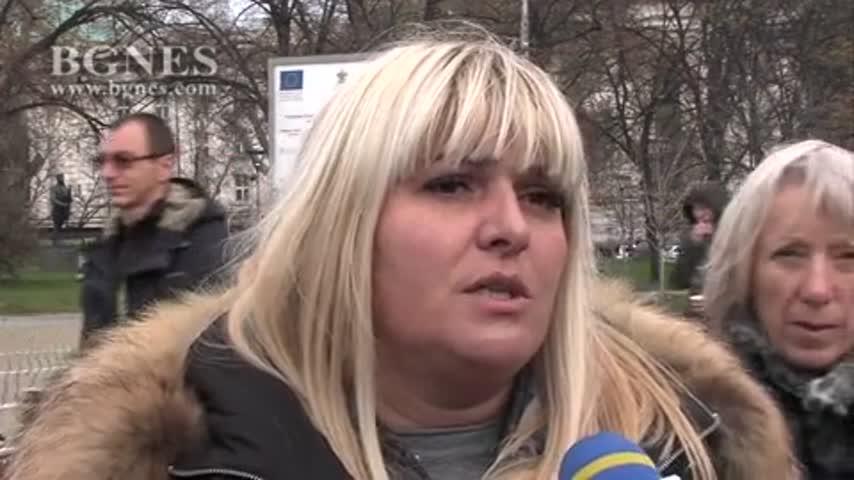 Контрапротест в защита на Валери Симеонов